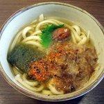 足柄麺宿 EXPASA足柄下り - ホールインワンうどん450円