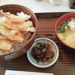 レストラン 大納言 - 天丼とミニうどん