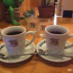 コメダ珈琲店  - ブレンド・アメリカンは同じカップだった。。