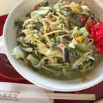 ちょっ蔵食堂 - 野菜たっぷりのちゃんぽん