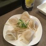 麺酒家SHIN - 料理写真:水餃子('17/10/15)