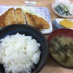 定食 あじ亭 - 料理写真:カツ定食
