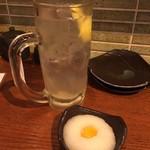 神鶏 - レモンサワー