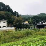 相福庵 - お店の前の畑