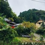 相福庵 - 駐車場からまだ山側に家がある。。。