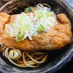 相福庵 - たぬき蕎麦のたぬき=お揚げさん
