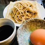 相福庵 - 本当に大きな卵でした。でも、黄身がレモン色なんです。なんか特別な卵なのかな?