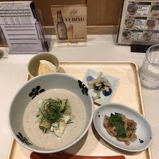 だし茶漬け えん ラゾーナ川崎プラザ店 - 冷汁。 税込700円。 美味し。