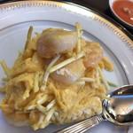 シャンデリア飲茶 - 黄ニラと海老玉
