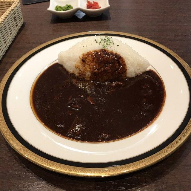 M&C Cafe 川崎店 - ポーク早矢仕ライス。 税込1050円。 美味し。