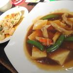 むとす - 蟹と豆腐の餡かけ