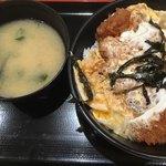 74827344 - ロースカツ丼(税込530円)