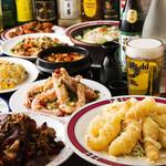 良記 餃子酒場 - 料理写真:2時間食べ放題¥2980