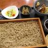 そば酒房 かねこ - 料理写真:せいろとミニ天丼セット ¥980