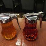 珈琲新鮮館 - メイプルシロップとハチミツ