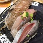 独楽寿司 - 料理写真:201709