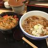 小諸そば - 料理写真:かき揚げ丼セット