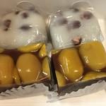 御菓子司 壷屋 - 栗蒸しようかんと豆大福