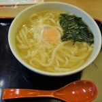 因幡うどん - 玉子うどん(450円)