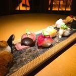 74832394 - お店のイチオシ!七色てまり寿司 ¥1,800