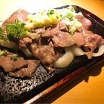 七色てまりうた - ネギ塩牛タンの溶岩焼き ¥1,280