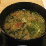 Mekikinoginji - 海藻いっぱいのみそ汁