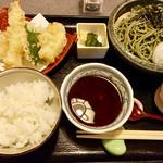 北新地 みち田 - 天ぷら茶蕎麦膳
