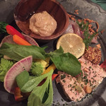 ノマディカ - 前菜3種盛り