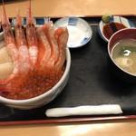 いくら亭 - 海峡丼+サーモン
