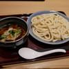 饂飩蕎麦 彩の国 - 料理写真:つけ汁地粉うどん(肉)