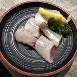 さかとけ - いわしの刺身250円(税別)