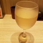 みどりのキッチン - グラス白ワイン