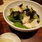 みどりのキッチン - 豆腐サラダ