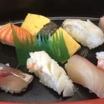 たかや寿司 - 料理写真:にぎり寿司