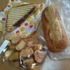さく・ら・ぱん - 料理写真:ピッコロと小倉トースト、ラスクのセット(500円) ※スイーツパスポート使用