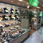 グリーンオアシス - こちらはお食事系の陳列ケース