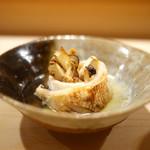 鮨 あらい - 岩手産松茸カマス巻き