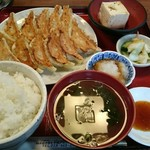 74844863 - 餃子定食(ダブル) 960円
