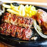 ブロンコ ビリー - がんこハンバーグとやわらかカットステーキ
