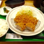 鎌倉かつ亭 あら珠 - Bランチ1180円
