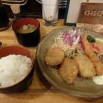 味神戸 - ミックス定食