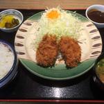 かつさと - ヒレかつ定食(2枚)通常702円→500円