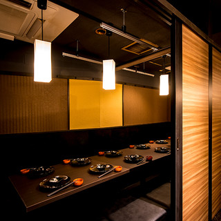 ◆上質な個室と雰囲気を堪能◆