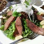 イタリア食堂 LAPANCIA - サラダランチ、ローストビーフのサラダ