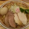 中華そばムタヒロ - 料理写真:ワハハ煮干し特製そば大盛