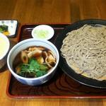 富田屋 - 鴨せいろととろろご飯(6月)