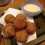 美酒美燗 煮りん - サトイモの煮っころがし唐揚げ
