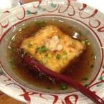 美酒美燗 煮りん - 揚げ出し豆腐