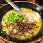 一竜 - 味噌豚骨ラーメン(バリカタ)700円