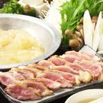 野乃鳥梅味堂 - 炙り鶏鍋コース/4200円・4700円